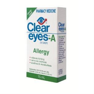 Clear Eyes A Drops 15ml