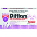 Difflam Cough Loz B/Currant S/Free 24